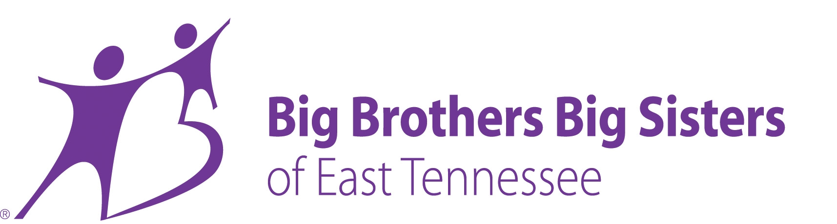 BBBS Logo in Purple Horizontal