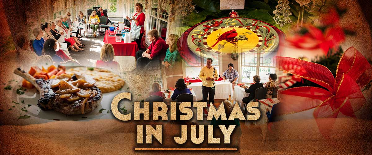 Knoxville Professional Event Photography - Christmas in July at the Whitestone Country Inn