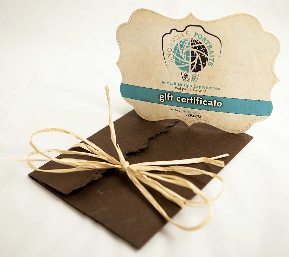 Knoxville Portraits Gift Certificate