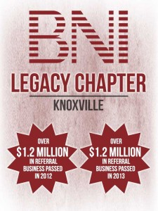 Business Network International - Legacy Chapter @ Tusculum College | Knoxville | Tennessee | United States